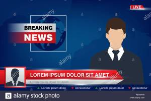 tv-news-studio-with-broadcaster-and-breaking-world-background-vector-illustration-breaking-news-on-tv-broadcasting-journalist-RE5WAW